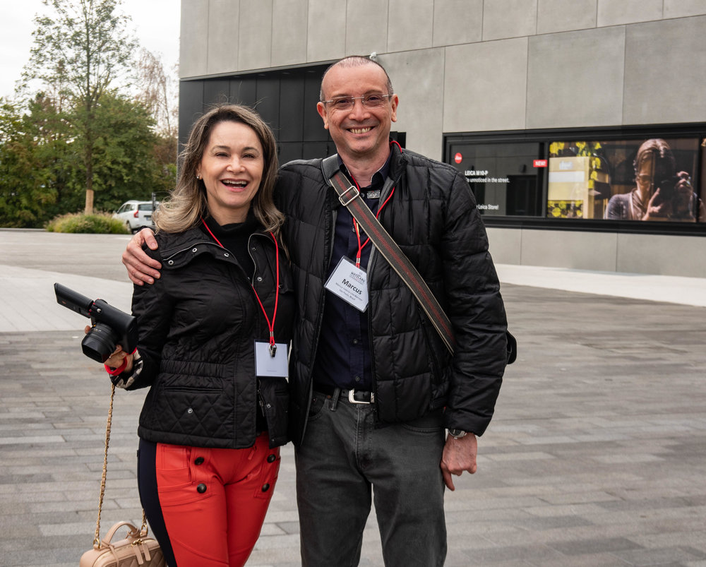 Marcus and Lusinel Lins-Barroso, regular Macfilos readers all the way from Sao Paulo, Brazil. This is truly an international gathering with everyone sharing their love of Leica products