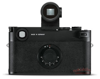 The EVF is the big surprise on the purported new model. The exposure compensation dial on the rear mimics that of the M7 (Image Nokishita)