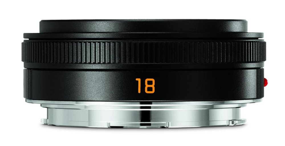 "Crêpe japonaise: The 18mm Elmarit-TL is one of my favourite lenses, a perfect pancake to complement the CL. It is a high-quality high achiever, but it is made for Leica ""somewhere in Japan"""