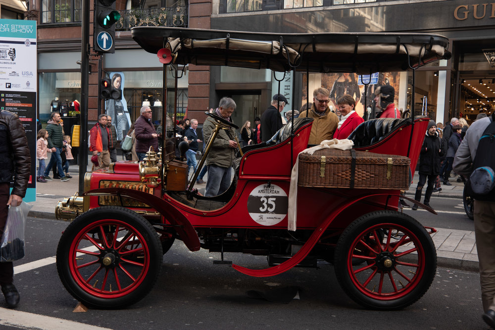 Surrey without a fringe on top, a colourful and compact tourer ready for last Sunday's RAC London-Brighton veteran car run