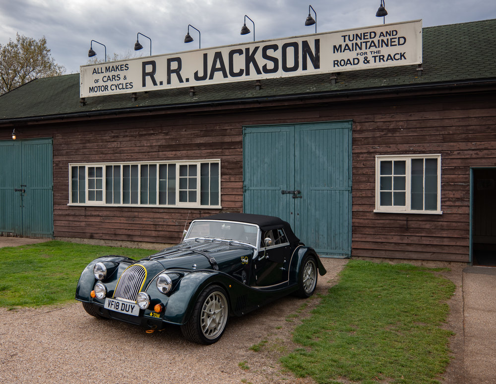 Morgan, still going strong. This 2018 model is No. 39 of 50 limited-edition vehicles to celebrate the 50th anniversary of the legendary Plus 8. This model is supplied by    Richard Thorne Classic Cars
