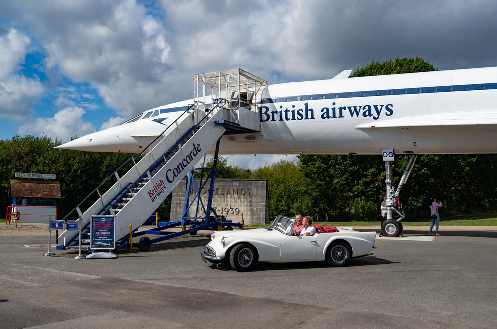 Ready for boarding: Regular Macfilos readers will know that another of the 20 Concordes is on display here at the Brooklands Museum in Weybridge, south-west of London. It's one of Mike's regular haunts and he took this picture with his Leica X2, the Mark II version of my trusty X1