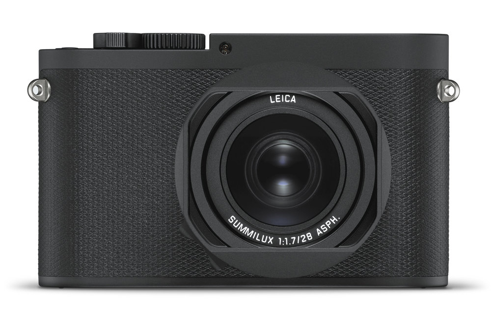 So stealthy, you wouldn't know it was there. It's the new Leica Q-P