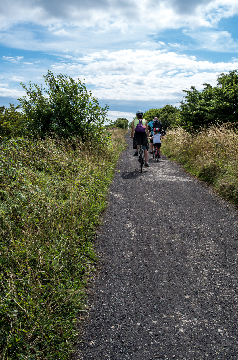 Cyclists beware. You may find more between Hawsker and Robin Hoods Bay than you would like.