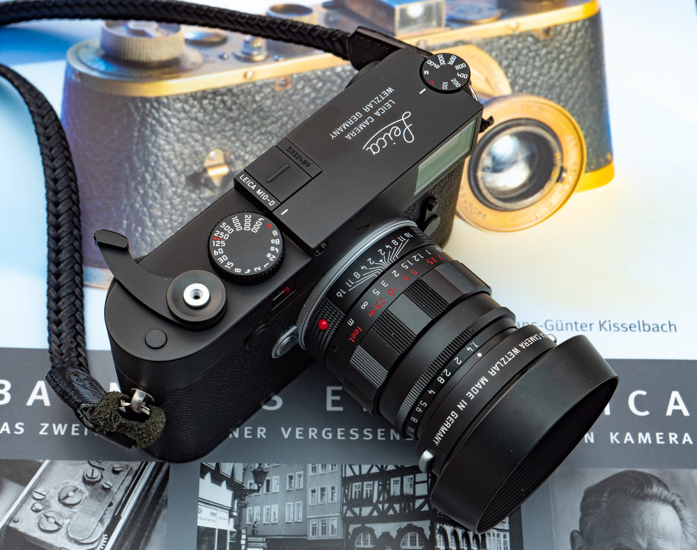 In the footage of Barnacks Erste Leica. Oskar would have been proud of the M10-D
