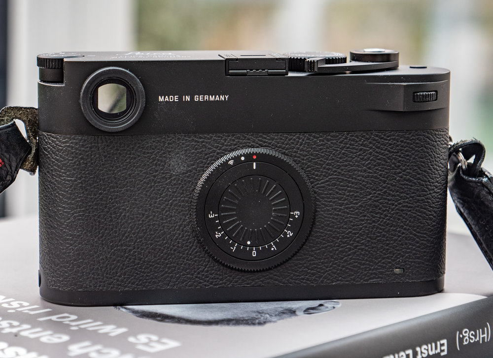 If you are addicted to the feel of a Leica film camera, whether M3 or M7, the M10-D will float your boat. Unlike the M240-based M-D, this camera has the dimensions of a true M film body. It's the same size as the M7 but taller than the original M3. The combined on/off/wifi switch and exposure compensation dial is a period touch, a nod to the film sensitivity dial on the earliest M cameras. And no buttons to press by mistake….