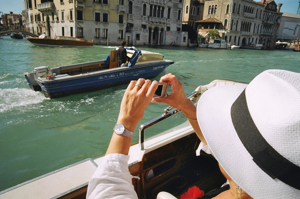 Film shoots digital, Venice; 2.5 megapixel scan of M3 photo, ISO 800 'Lomography' film, 24mm f/1.4.
