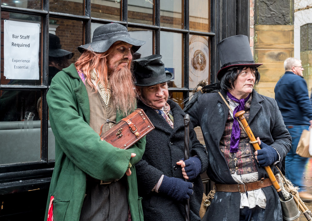 Would you entrust your bar to this lot? Fagin would make a clean sweep