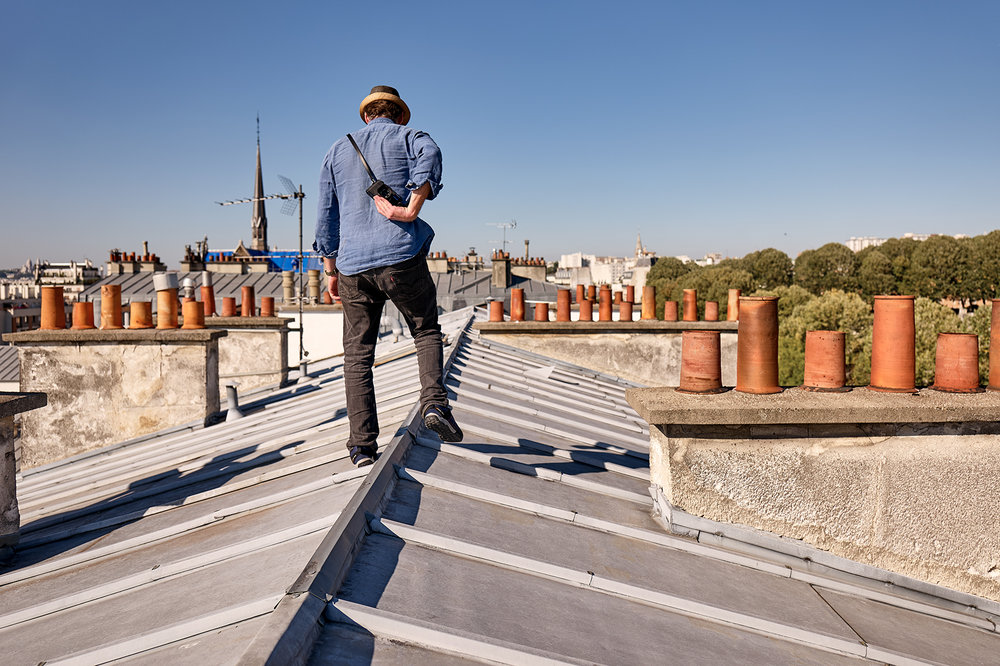 With no screen to break, the M10-D is the ideal camera for the new genre of rooftop photography. Since you cannot chimp, there's less chance of falling off the roof