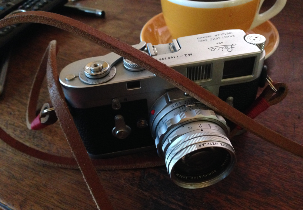 Stephen Jenner's OCOLOY challenge in 2015 — a Leica M2 and dual-range Summicron. A real back-to-basics choice