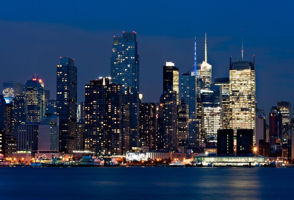 New York City skyline taken from Weehawken NJ