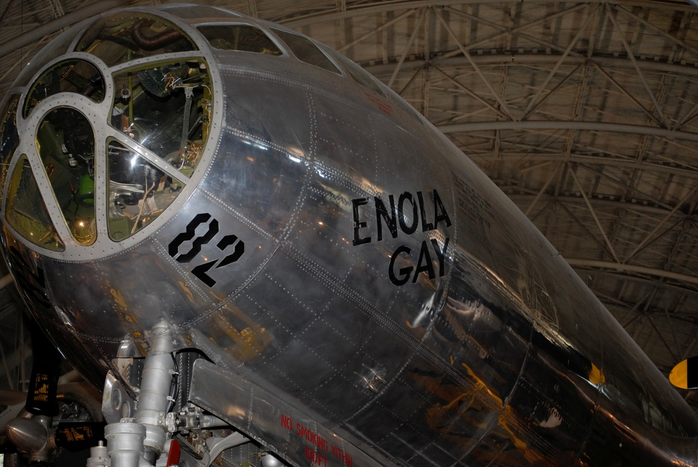 Enola Gay- Air and Space Museum