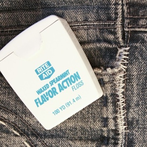 For best results, use spearmint to give your pants that really clean smell