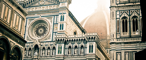 Morning fog over the Duomo (Florence)