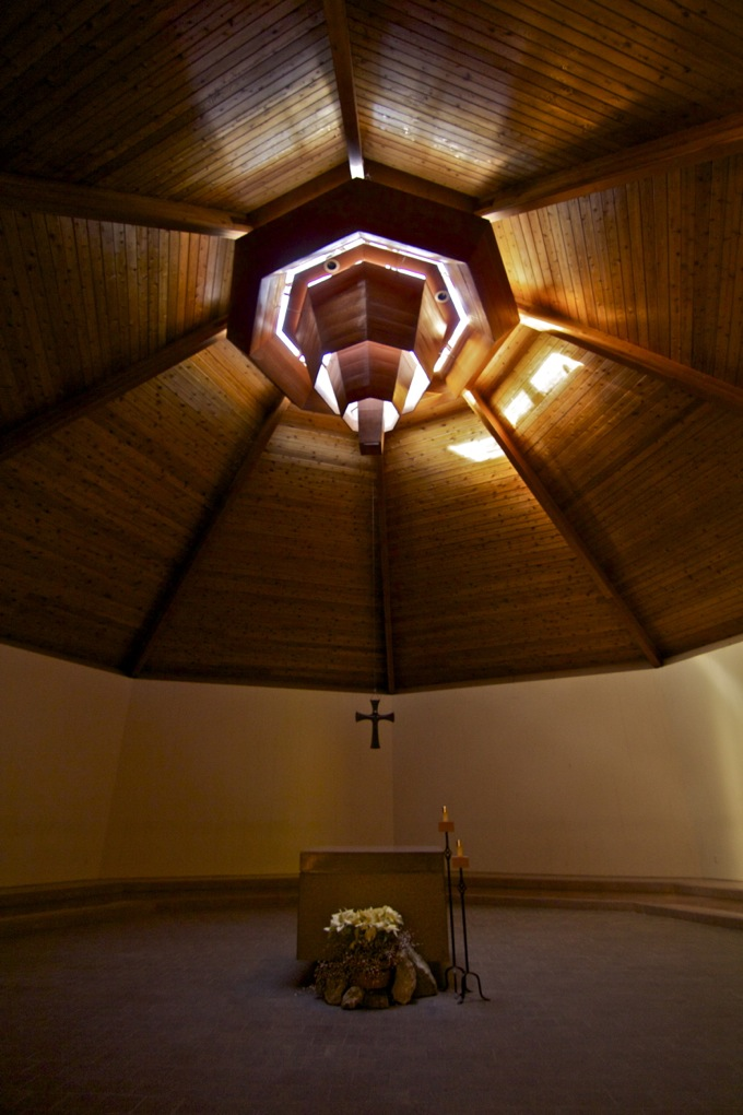 Prayer chapel at New Camaldoli Hermitage