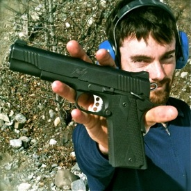 Kimber .45: sort of like a fly-swatter for grizzly bears
