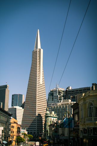 I'm still not sure if I think the Transamerica Pyramid is beautiful or not…but at least it's distinct!
