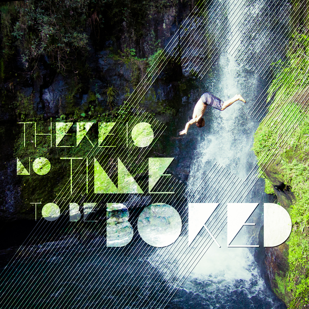 If you're (a) near a waterfall, (b) doing a front flip, (c) screaming for your life, or (d) any combination of these things, it's highly probable your life is awesomely gnarly (photo furnished by Ryan Brown)