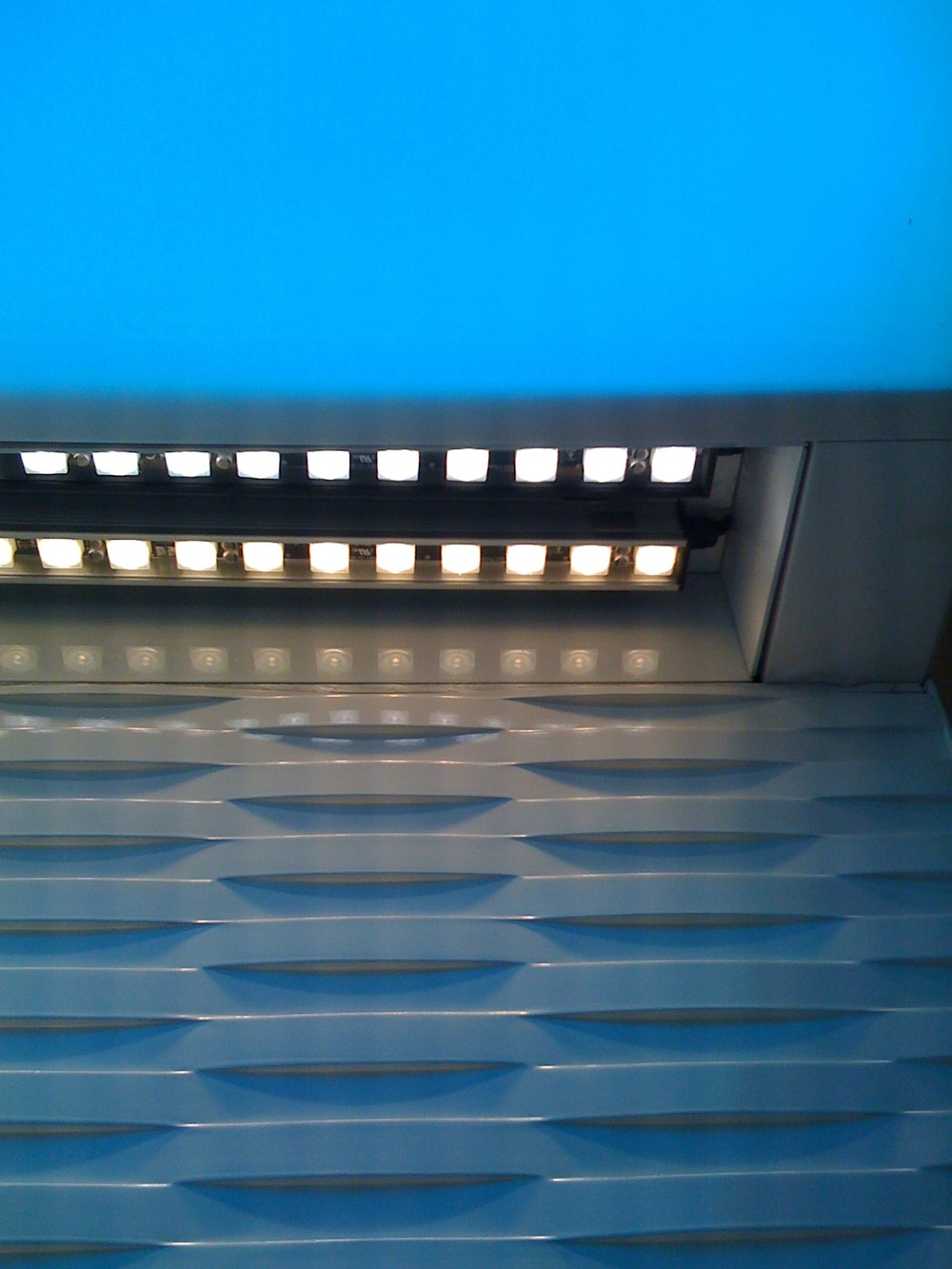 Two-Row LED Wall Grazer from Boca Flasher
