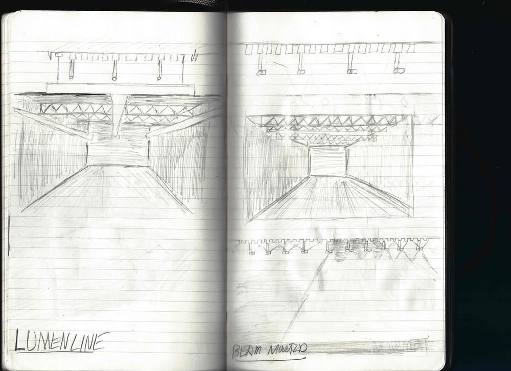 A couple of concept sketches using a product called Lumenline from Lumenpulse.