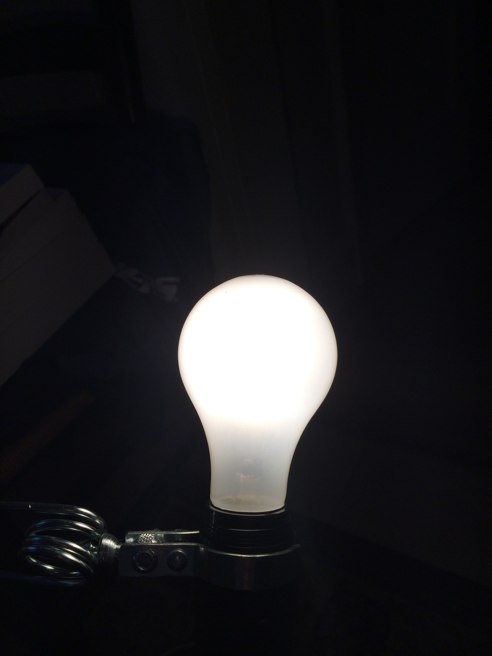 Goodbye 60 watt incandescent bulb