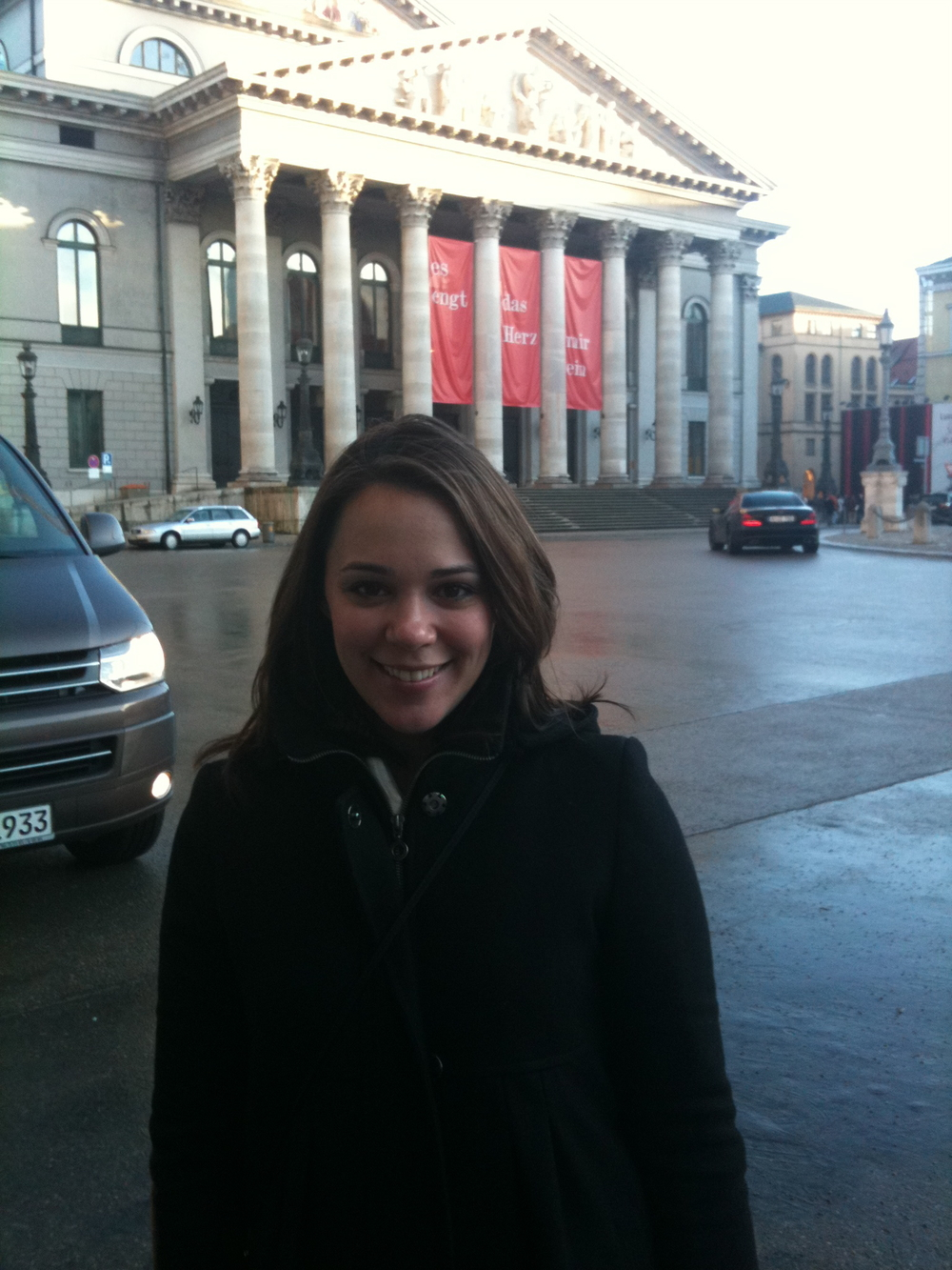 My debut at the Bayerische Staatsoper