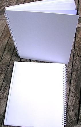 Hardcover Blank Books, Spiral Binding
