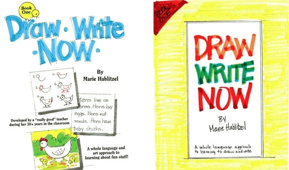Other Draw Write Now cover sketches.