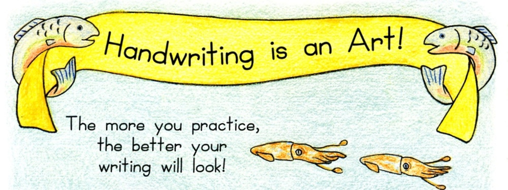 Handwriting is an Art! Draw-Write-Now, Book 6 The more you practice, the better your writing will look!