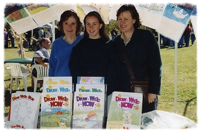 ABOUT US - We are the authors of the Draw-Write-Now eight-book series.