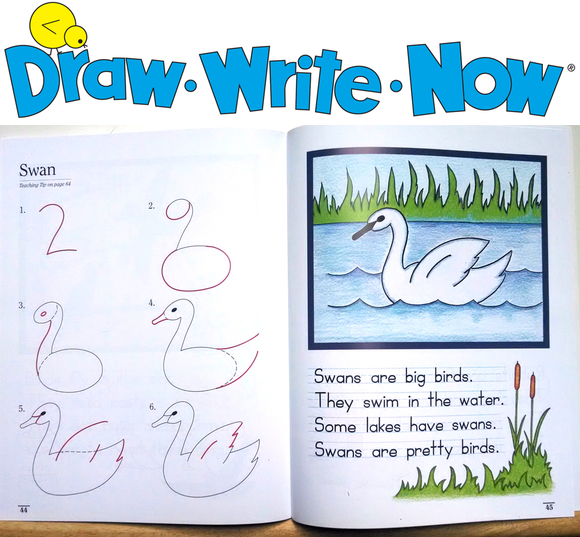 SEE OUR BOOKS: Draw-Write-Now Award-winning!