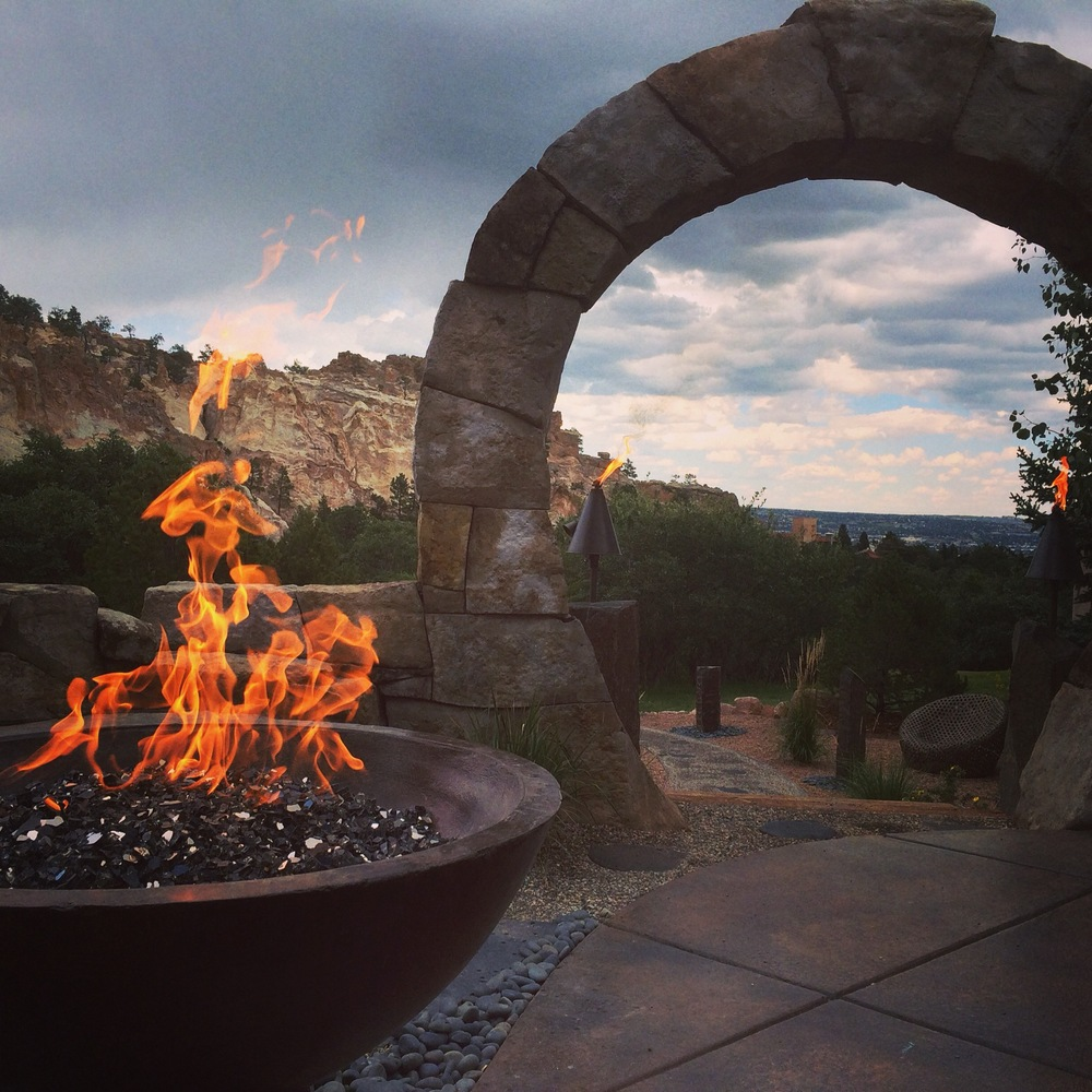 Arch and Fire