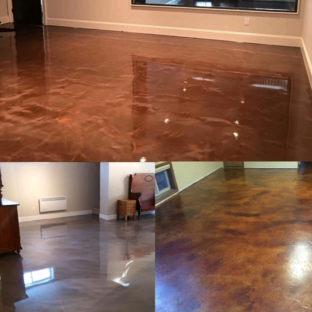 interior concrete flooring