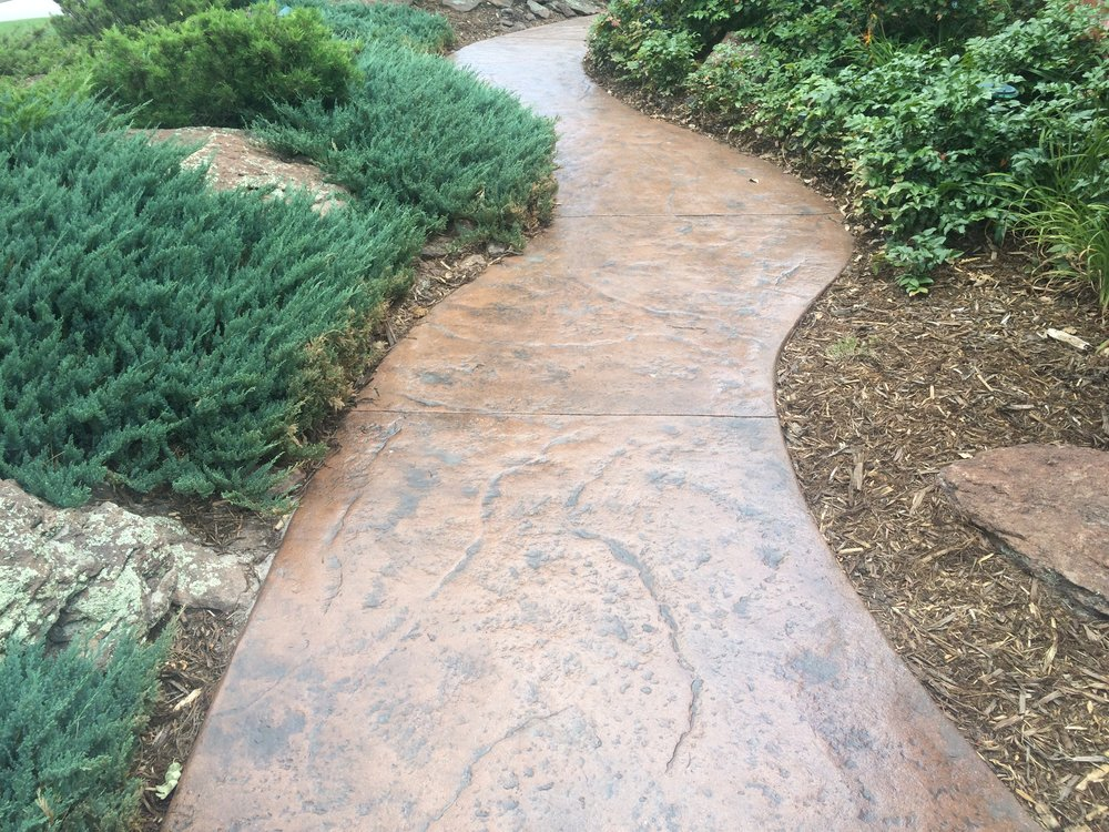 Freshly Restored Walkway