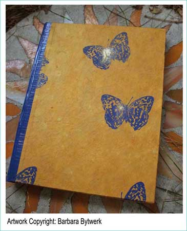 The Mixed Media Variety Hour covers a sewn journal too. Visit Barbara by clicking on this image.