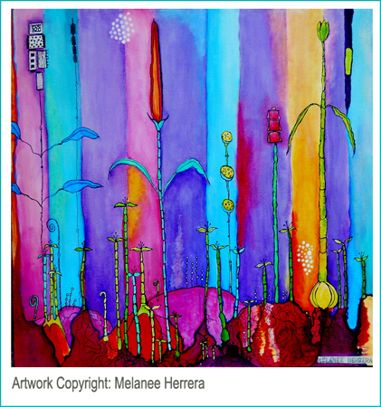 You can visit Melanee to let her know you love her painting...just click on it!