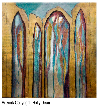 Go and say hi to Holly! Click her painting.