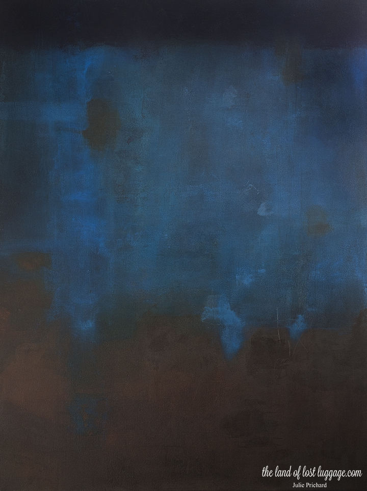 "Mixed Media on Canvas; 36 x 48"""
