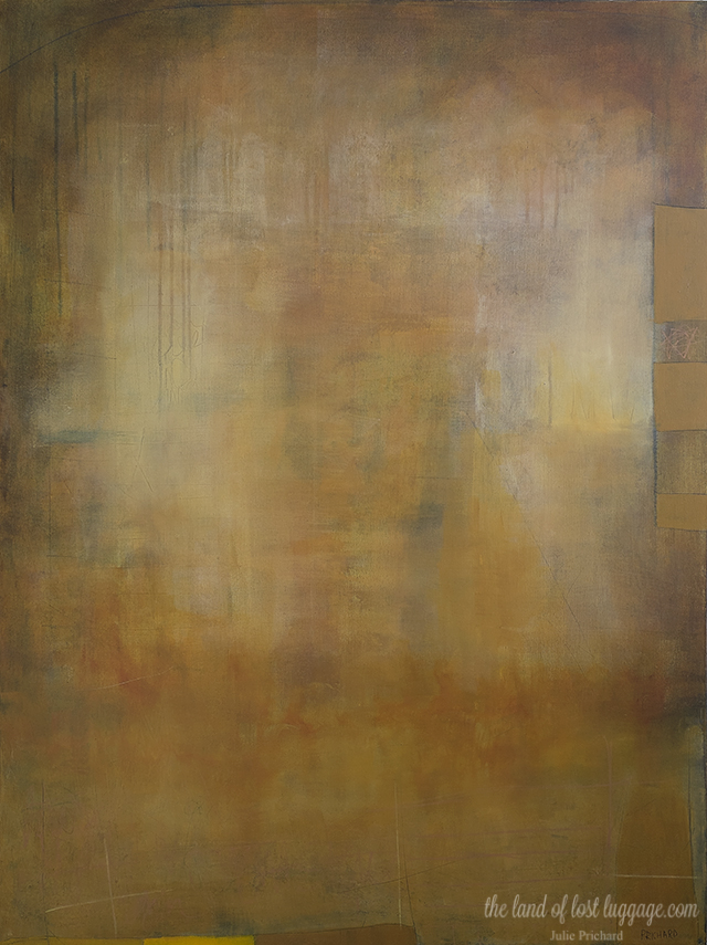 """Untitled No. 10 30x40"""" Mixed Media on gallery canvas."""