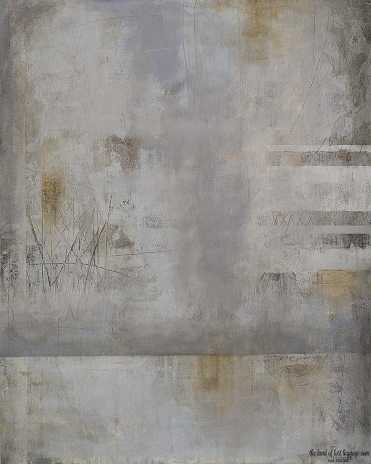 """Acrylic on canvas; 24x30"""" NFS"""