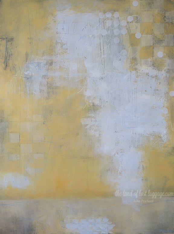 """My Checkered Past"" 30x40"" Mixed Media on Gallery Canvas"