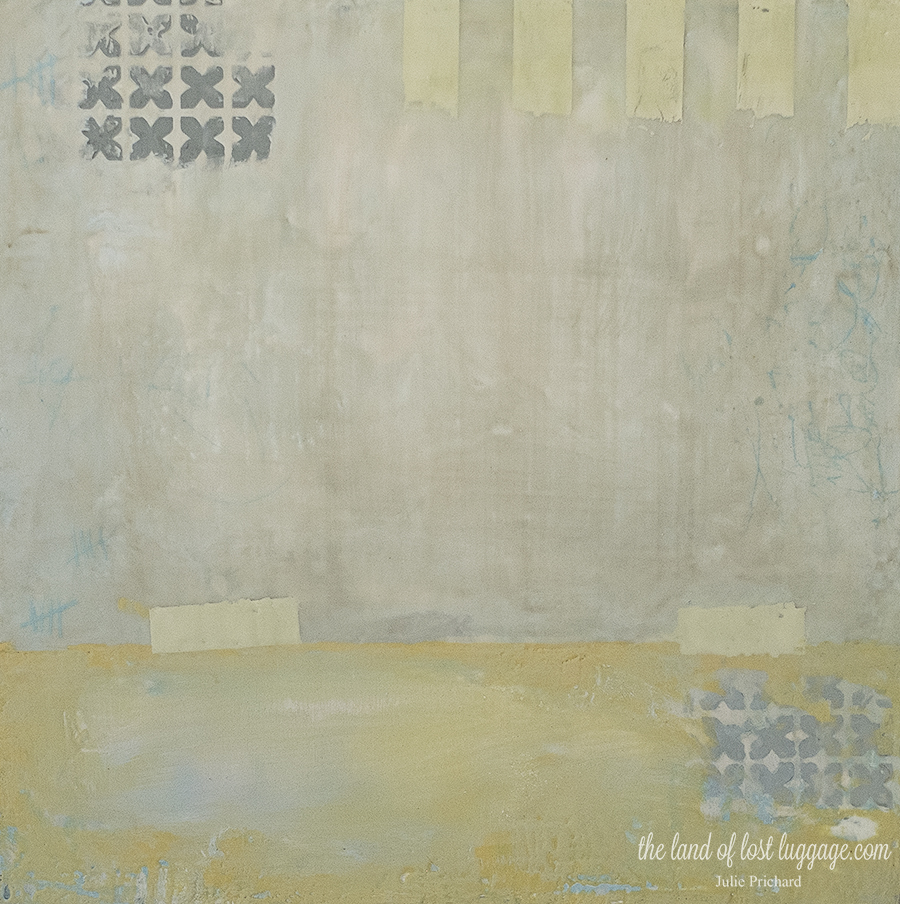 Maybe you like original encaustic paintings like this one?