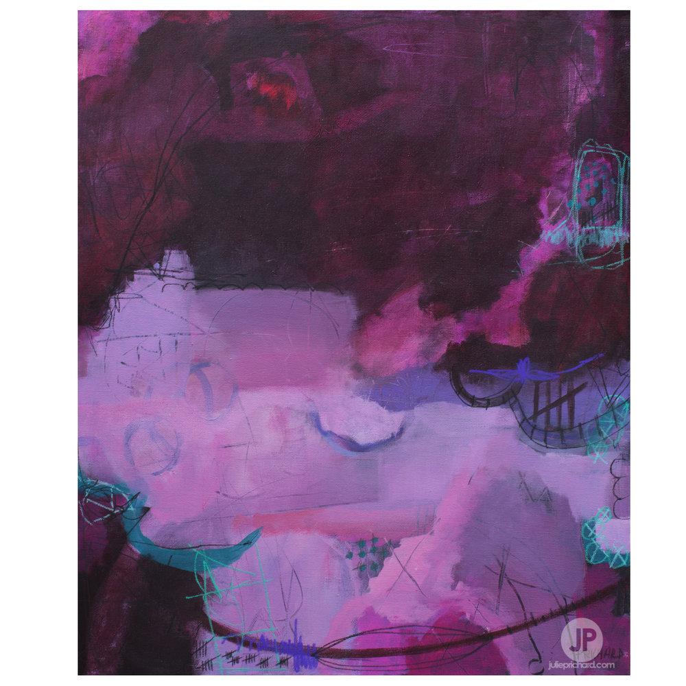 """Sweet Tooth"" original painting. SALE $175!! 20 x 24"" (1.5"" deep!!)"