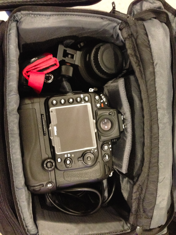 Nikon D800 fitted with 24-70 f2.8 and battery grip 16-35 and 70-200 also packed for options