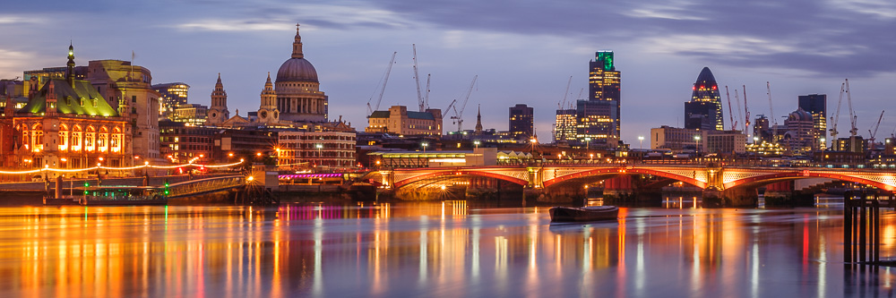 London Skyline at dawn