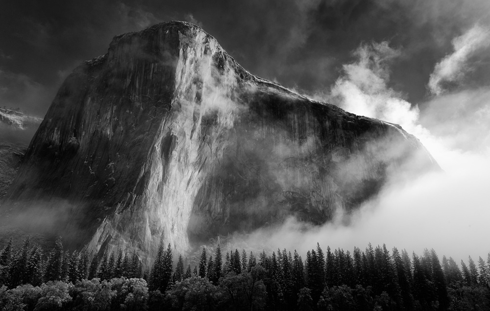 El Capitan in Yosemite National Park California