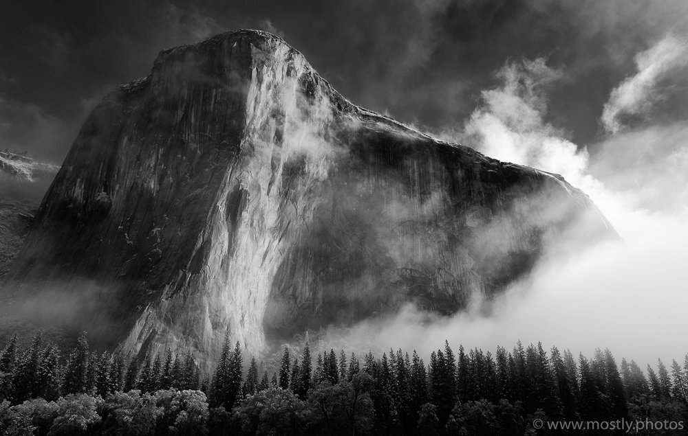 The Majestic El Capitan in Yosemite National Park, California