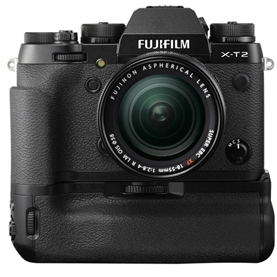 Fuji X-T2 and VPB-XT2 Battery Grip