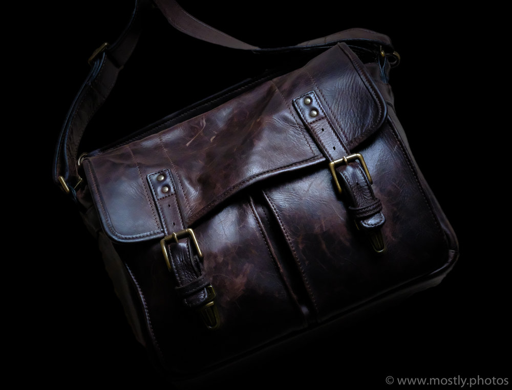 ONA Prince Street Leather Messenger Bag - Best Bag for Fuji X-T2