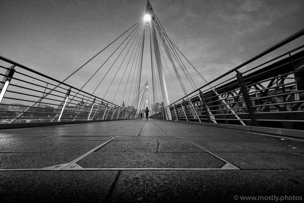 Fuji X-T2 - On the Bridge Fuji RAW converted in NIK Silver Efex Pro 2